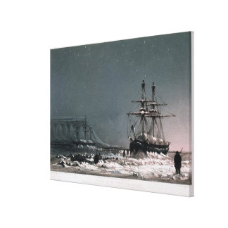 Noon: In Mid-Winter, Port Leopold, from 'Ten Colou Canvas Print