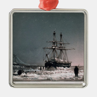 Noon: In Mid-Winter, Port Leopold, from 'Ten Colou Metal Ornament