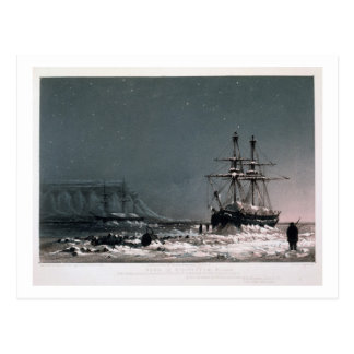 Noon: In Mid-Winter, Port Leopold, from 'Ten Colou Postcard