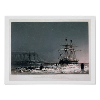 Noon: In Mid-Winter, Port Leopold, from 'Ten Colou Poster