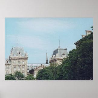 Noon in Paris Poster