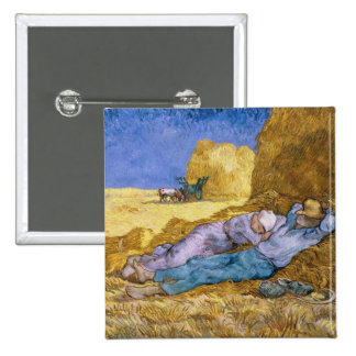 Noon, or The Siesta, after Millet, 1890 Pin