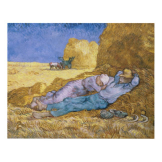 Noon, or The Siesta, after Millet, 1890 Panel Wall Art
