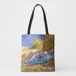 Noon, or The Siesta, after Millet, 1890 Tote Bag