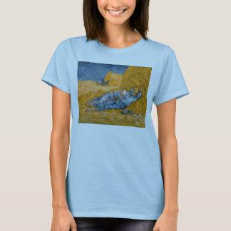 Noon, Rest From Work After Millet Vincent Van Gogh T-Shirt