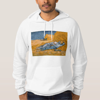 Noon – Rest from Work by Vincent Van Gogh Hoodie