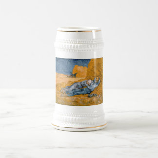 Noon – Rest from Work by Vincent Van Gogh Coffee Mug