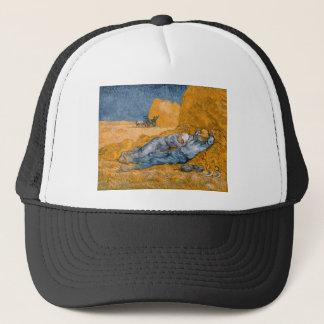 Noon – Rest from Work by Vincent Van Gogh Trucker Hat