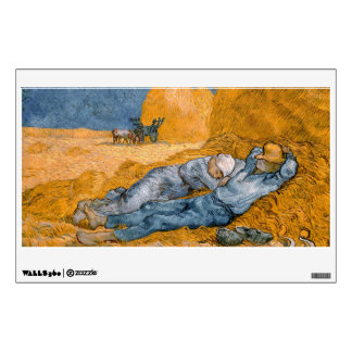 Noon – Rest from Work by Vincent Van Gogh Wall Decal