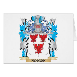 Noonan Coat of Arms - Family Crest Greeting Card