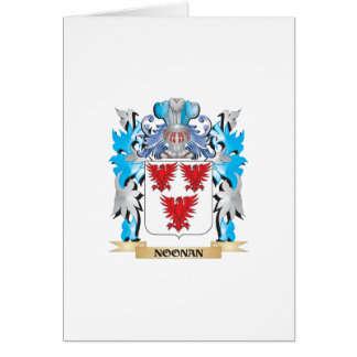 Noonan Coat of Arms - Family Crest Greeting Cards