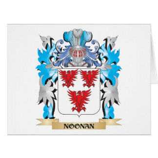 Noonan Coat of Arms - Family Crest Card