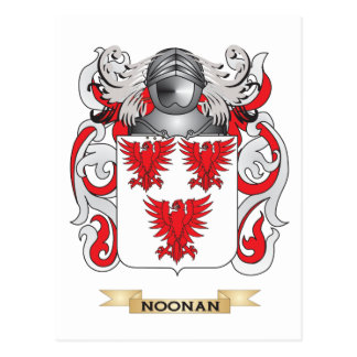 Noonan Coat of Arms (Family Crest) Postcards