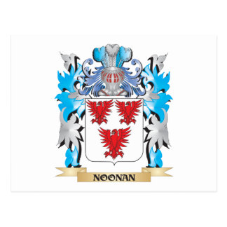 Noonan Coat of Arms - Family Crest Postcard