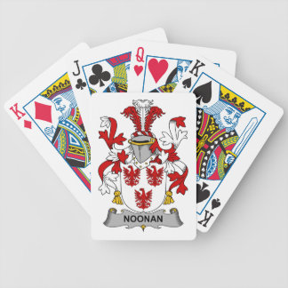 Noonan Family Crest Bicycle Playing Cards