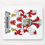 Noonan Family Crest Mouse Pad