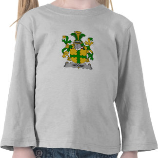 Noone Family Crest T Shirts