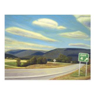 Noonlight en Vermont Postales