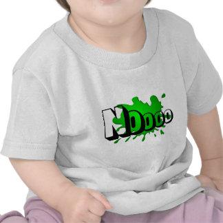 Noooo green splash shirts