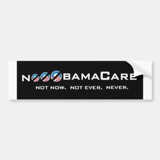 NooOObamaCare Bumper Sticker