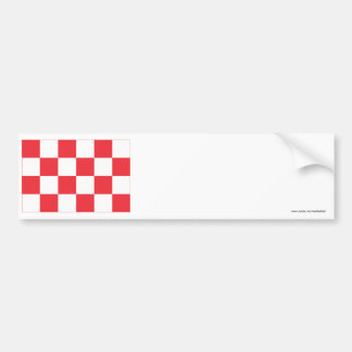 Noord-Brabant Flag Bumper Sticker