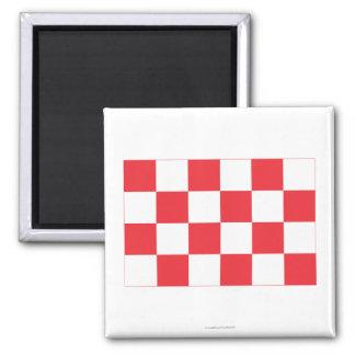 Noord-Brabant Flag Refrigerator Magnets