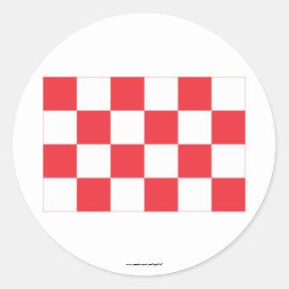 Noord-Brabant Flag Stickers