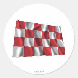 Noord-Brabant Waving Flag Stickers