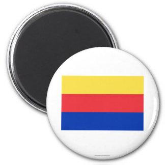 Noord-Holland Flag Fridge Magnets
