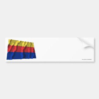 Noord-Holland Waving Flag Bumper Stickers