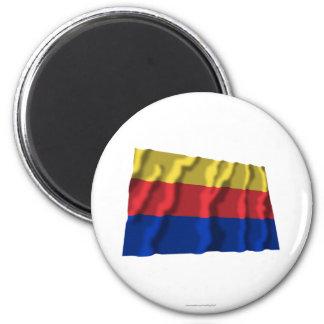 Noord-Holland Waving Flag Magnet