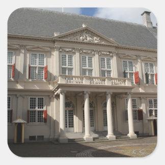 Noordeinde Palace Square Sticker