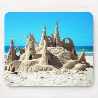 Noosa Beach Sandcastle Mousepad