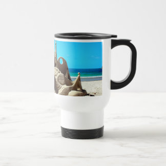 Noosa Beach Sandcastle Travel Mug