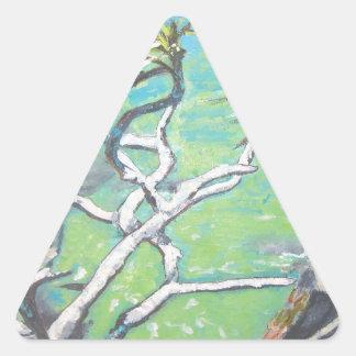 Noosa Pandanas Triangle Stickers