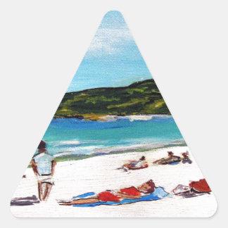 Noosa Sunshine Triangle Sticker