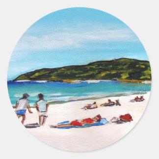 Noosa Sunshine Round Sticker