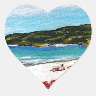 Noosa Sunshine Heart Sticker