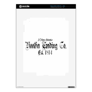 nootka trading iPad 2 decal