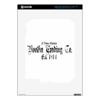 nootka trading iPad 3 decal