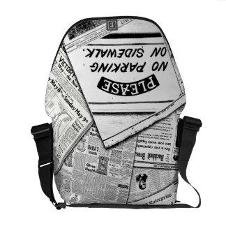 NoParking MessengerBag AeternusAmorSF Messenger Bag