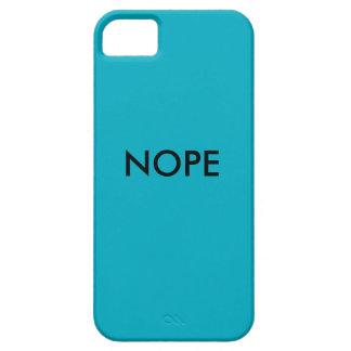 Nope iPhone 5/5S Case