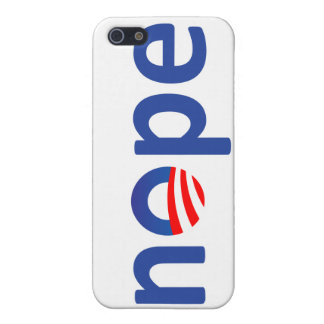 nope iPhone 5 covers