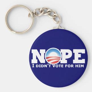 Nope Keychain