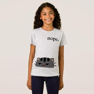 Nope Kitty T-Shirt
