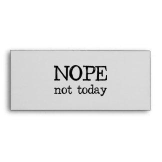 Nope no hoy sobre
