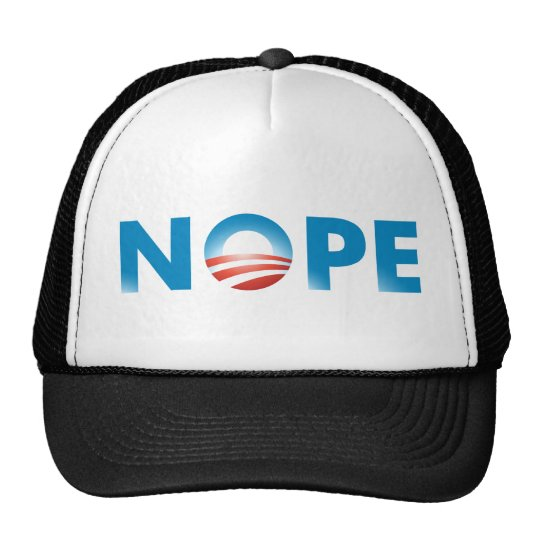 NOPE NO WAY TRUCKER HAT