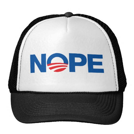 Nope Obama Gorro