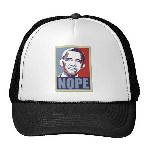 nope obama hats