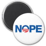 Nope Obama Imán Redondo 5 Cm